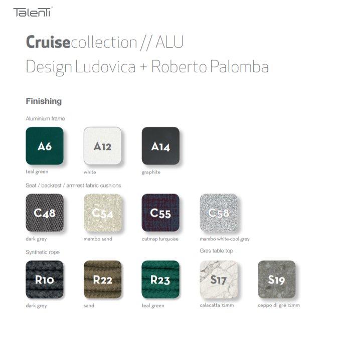 Cruise-Teak Collection