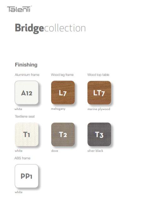 Bridge Collectie van Talenti Outdoor Tuinmeubelen