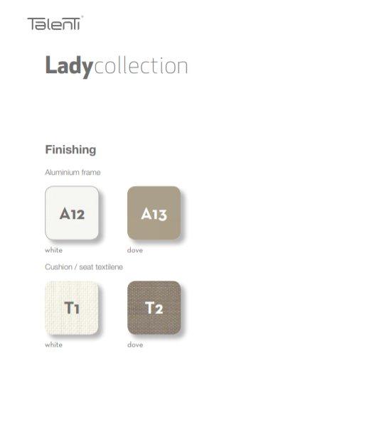 Lady Collectie van Talenti-Outdoor.nl Buitenmeubels Buitenmeubilair